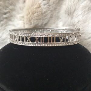 Jewelry - DIAMONIQUE®️ROMAN NUMERAL BANGLE